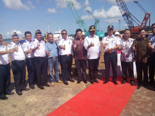 HUBLA DIRECTOR OFFICIALLY LAUNCHES LAUNCH 2 KAPAL KENAVIGASIAN, BATAM JULY 16 2016